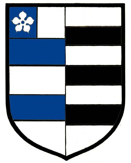 Impaled arms of Alderman George Peppard