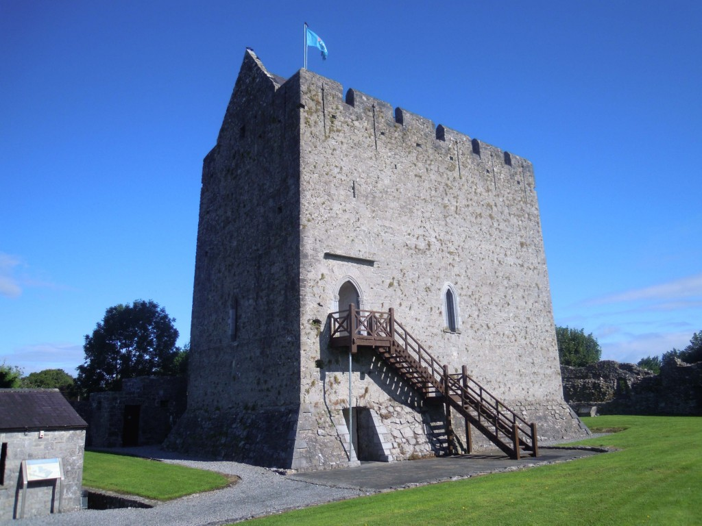 Athenry Castle viewed from the south
