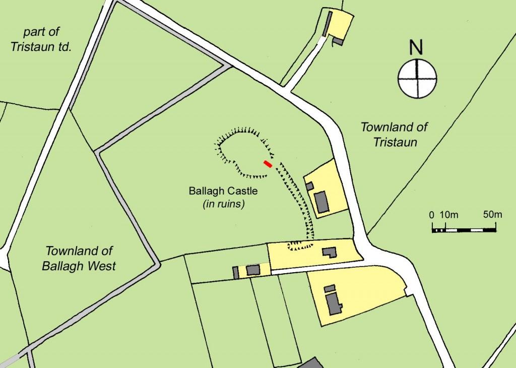 Ballagh Castle in twentieth century