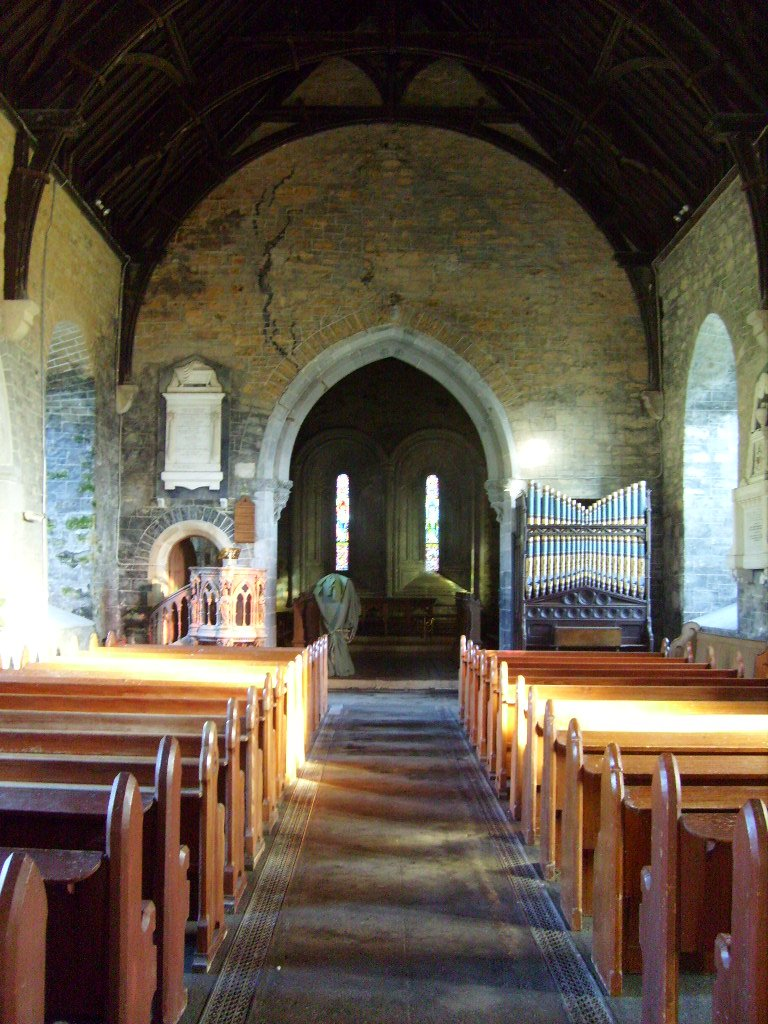 Clonfert Cathedral interior