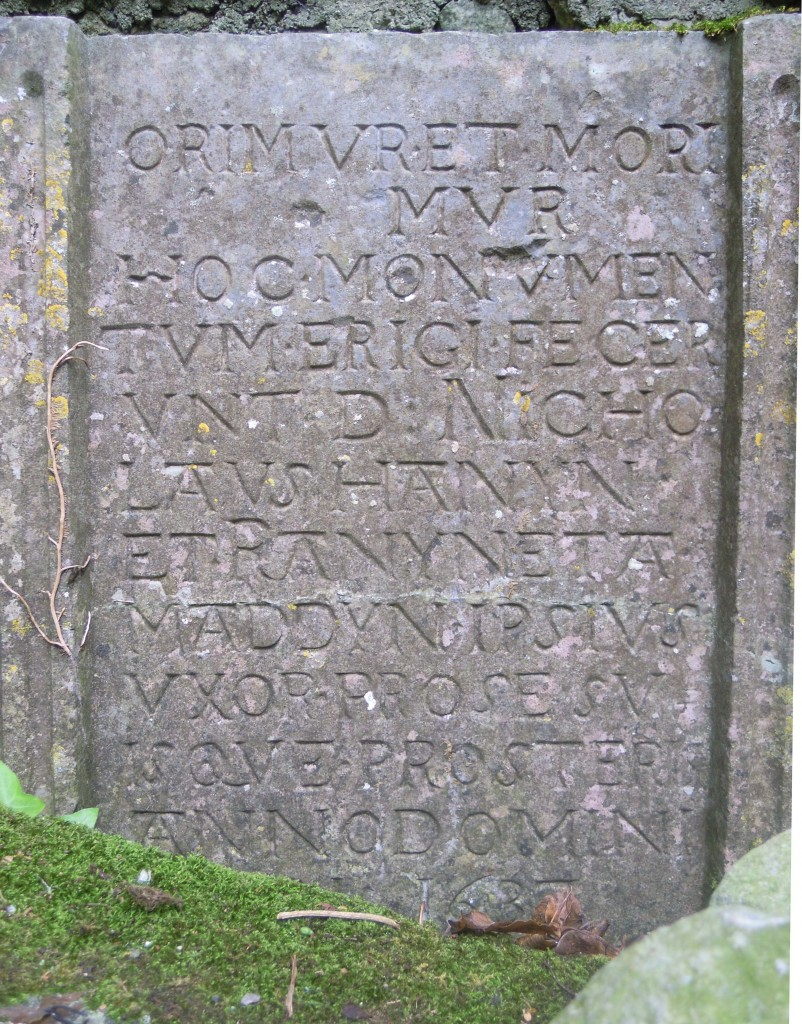 Inscription on Hannon tomb