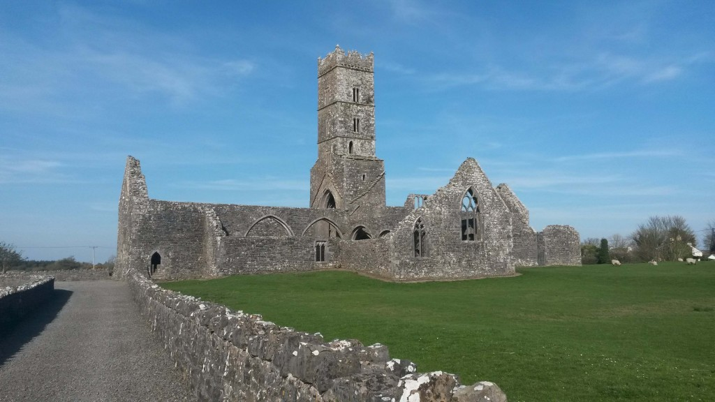 Kilconnell friary, County Galway
