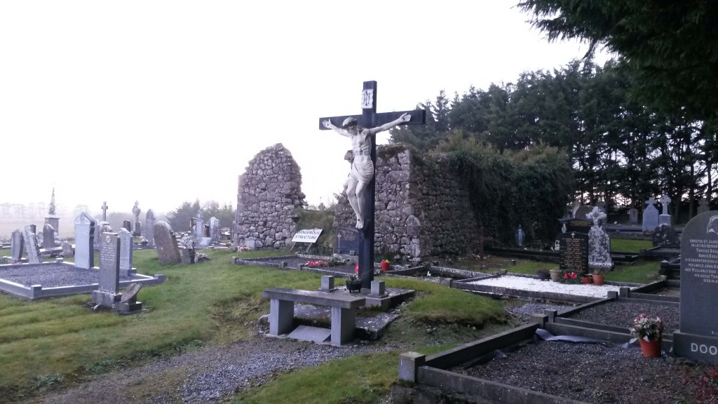 Kilmochonna church Lusmagh