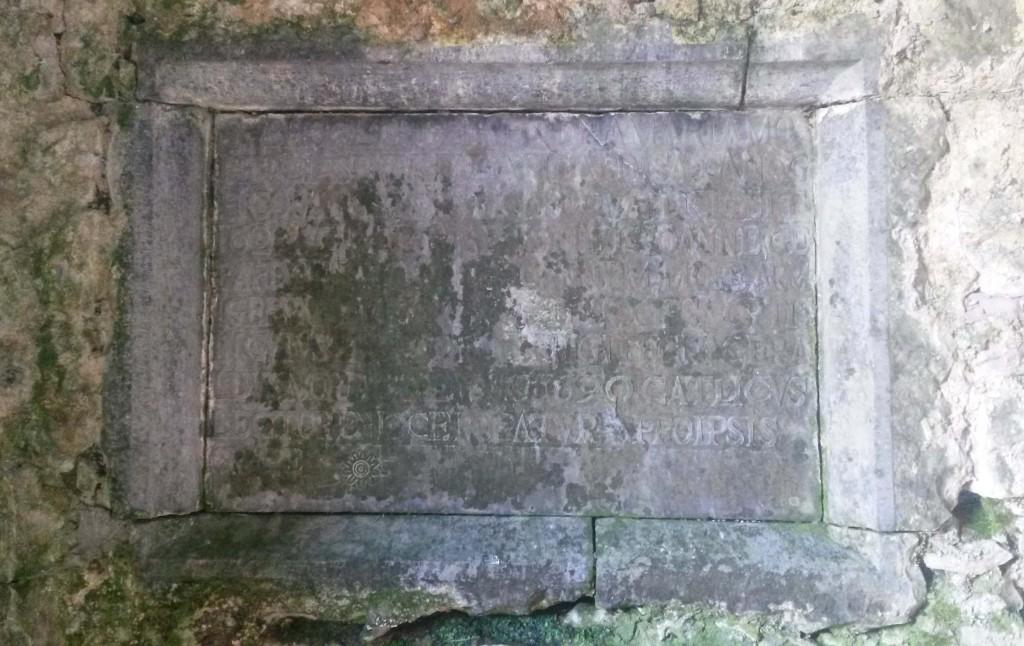 Moore Memorial tablet at Ballinasmale