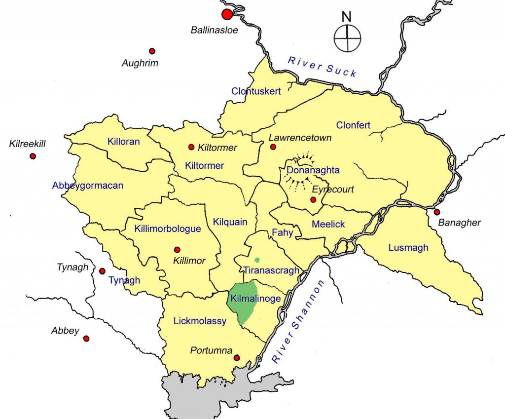 O Cormican lands circa 1618