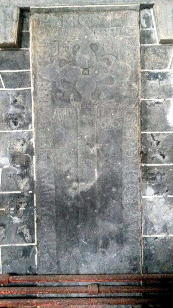 O Horan graveslab Clonfert