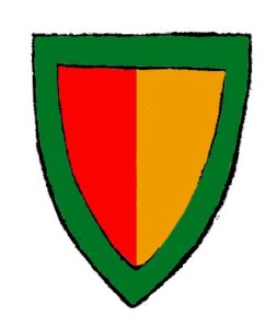 Richard de Burgh arms colour
