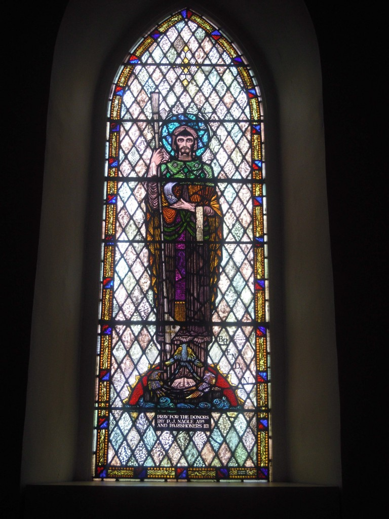St. Brendan the Navigator in Kiltormer Church