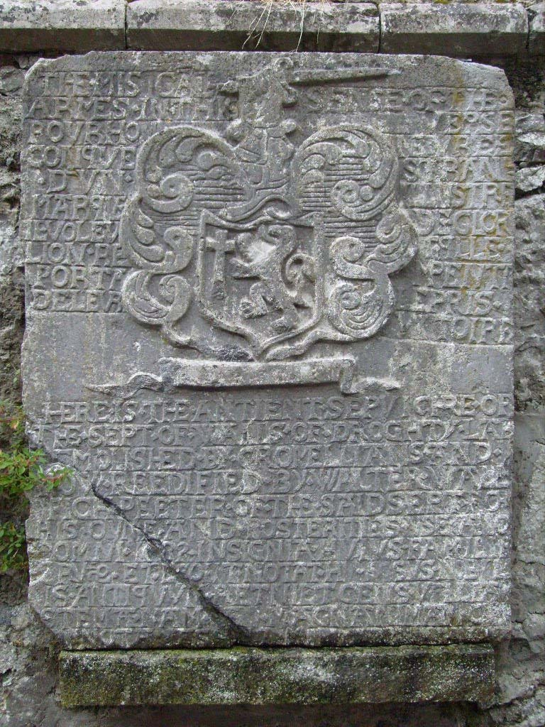 Wall arms at Athenry abbey
