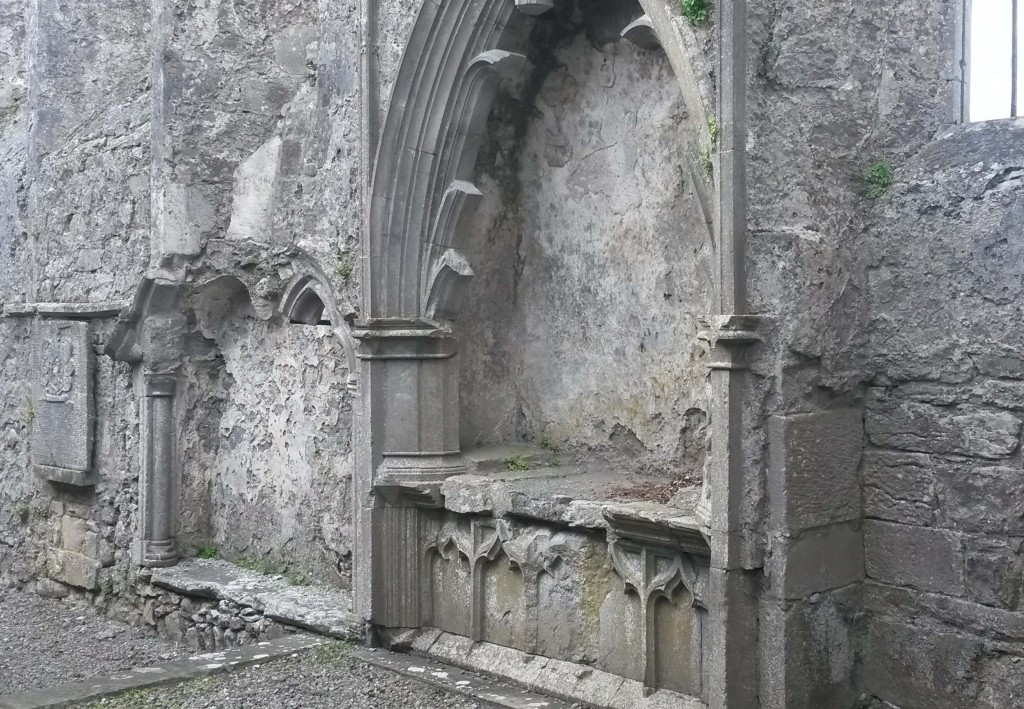 Wall tomb at Athenry Abbey