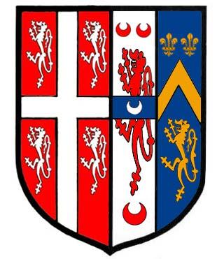 arms of John Bath died 1634