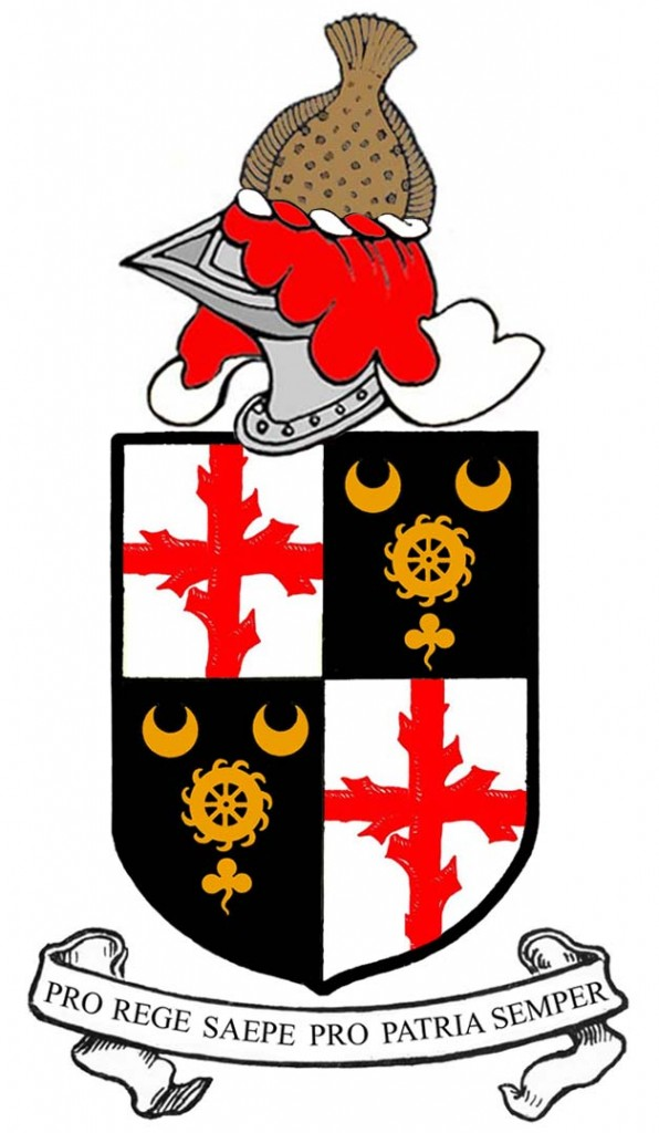 arms of Walter Lawrence of Lisreaghan