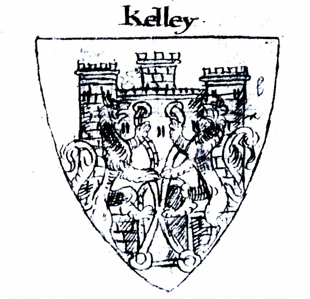 arms of William Kelley of Dublin