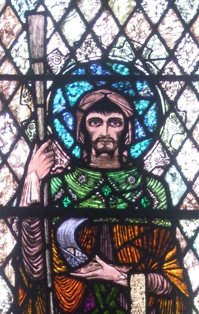 detail of St Brendan the Navigator