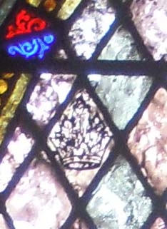 detail on St Columba window