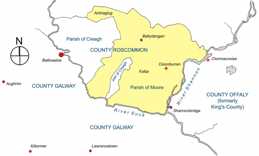 location of Cloonburren