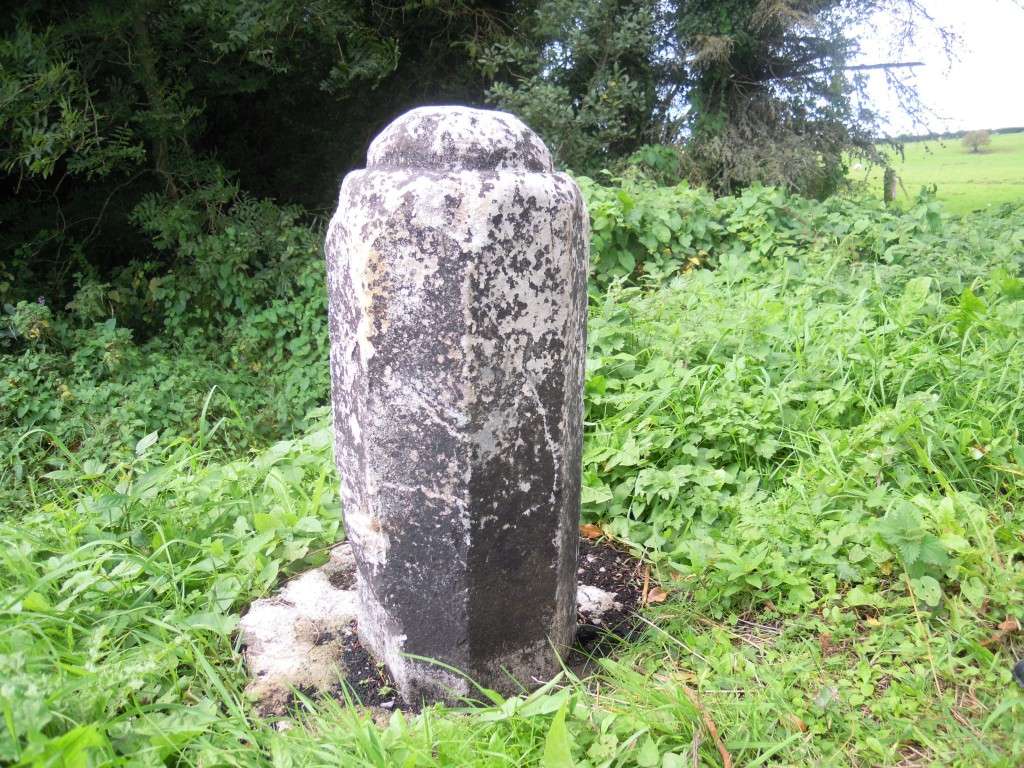 The stone said to be the remains of the cross