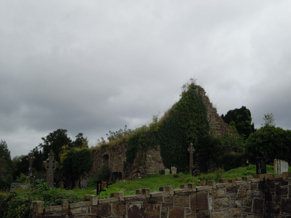 The ruins of the Kilronan Church