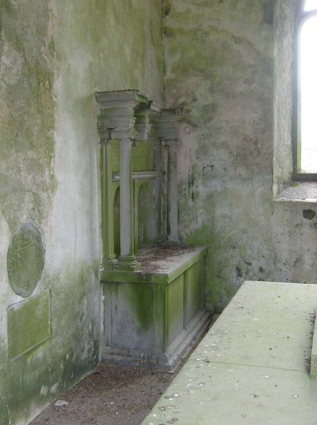Burke tomb at Abbey, Co. Galway