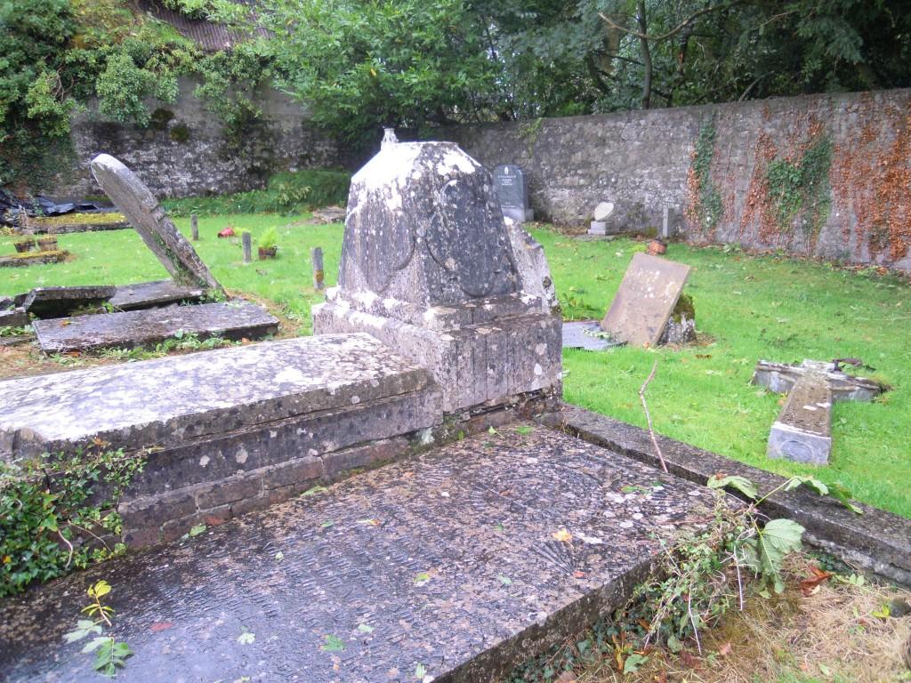 Nevin headstone, Clonfert