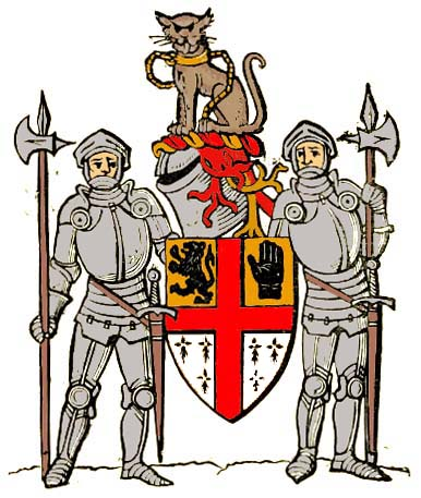 arms of Dermot Robert Wyndham Bourke, 7th Earl of Mayo and Viscount Mayo