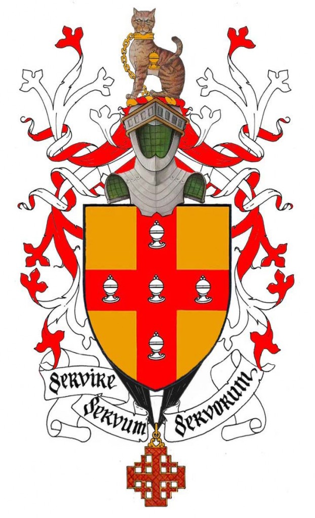 arms of Donal G. Burke of Killaltanagh, County Galway