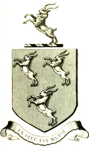 arms of Michael J Chevers Esq
