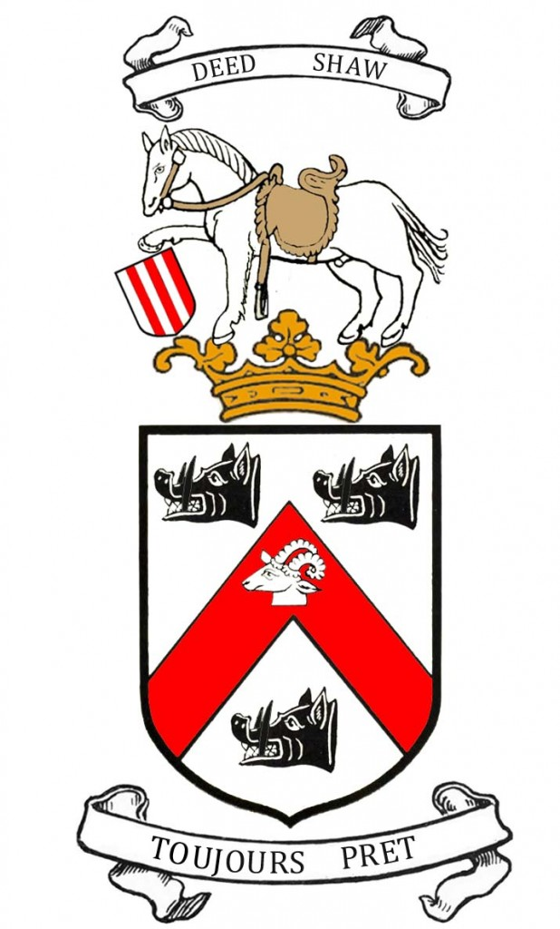 arms of William C B Trotter