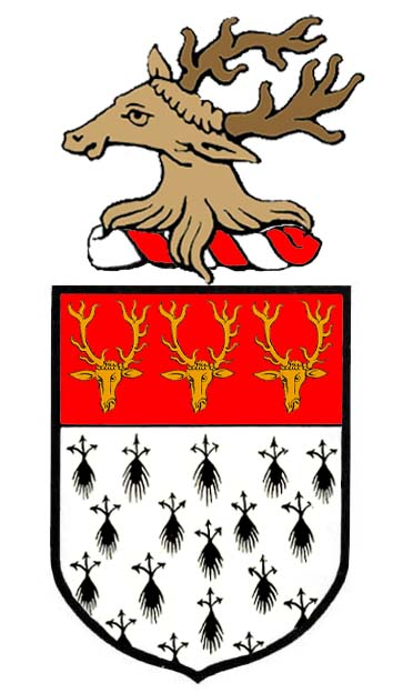 arms of Hanning of Dillington