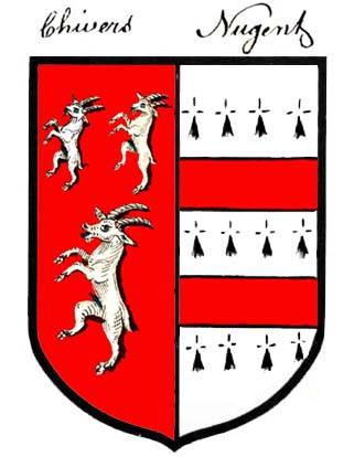 arms of Christopher Chevers