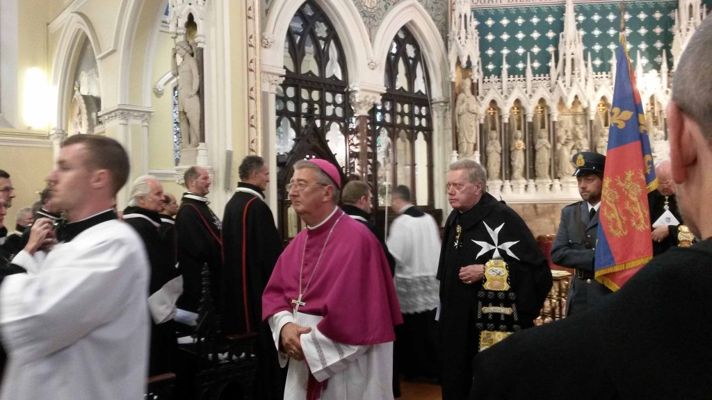 Archbishop Martin recessing