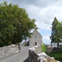 Meelick church from the gates