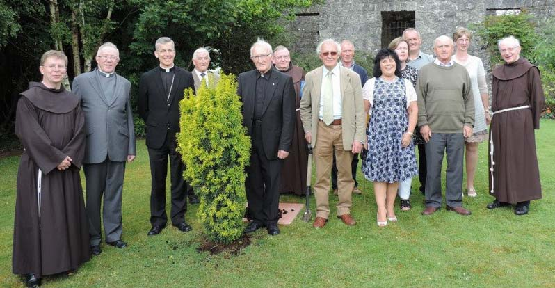 PPC with the Franciscans and Papal Nuncio