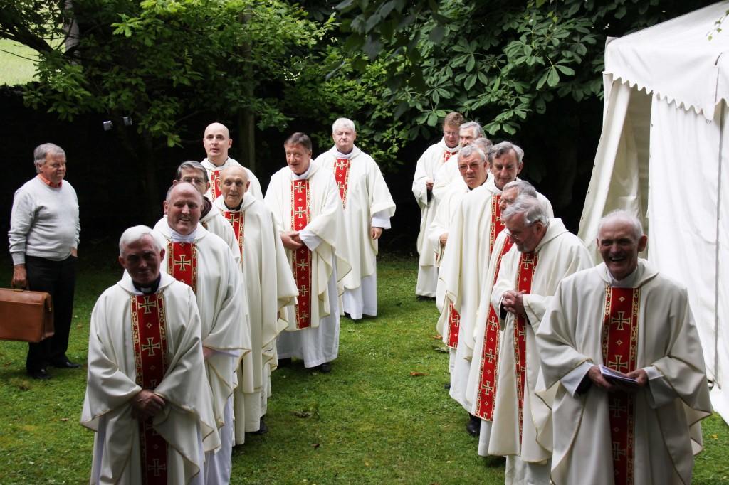 waiting priests