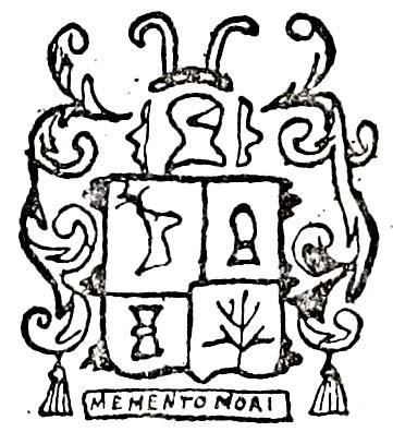 Cuming arms 1742