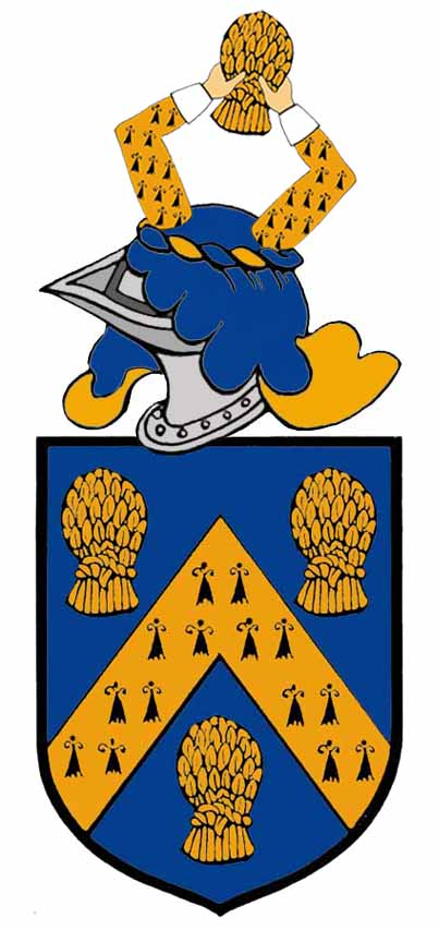 arms of Francis Comyn of Whitby