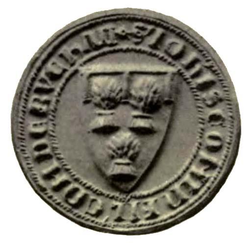 seal of John Comin son of Alexander Earl of Buchan