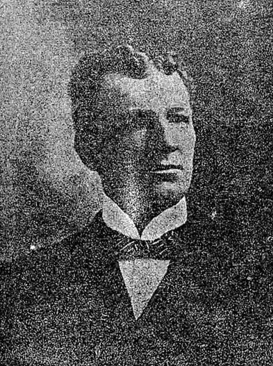 John P. Madden, died 1901