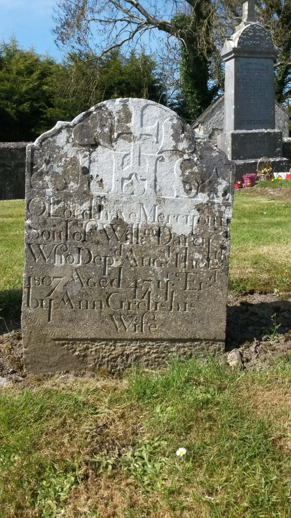 Darcy headstone Kiltormer