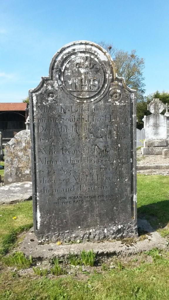 Hoban headstone Kiltormer