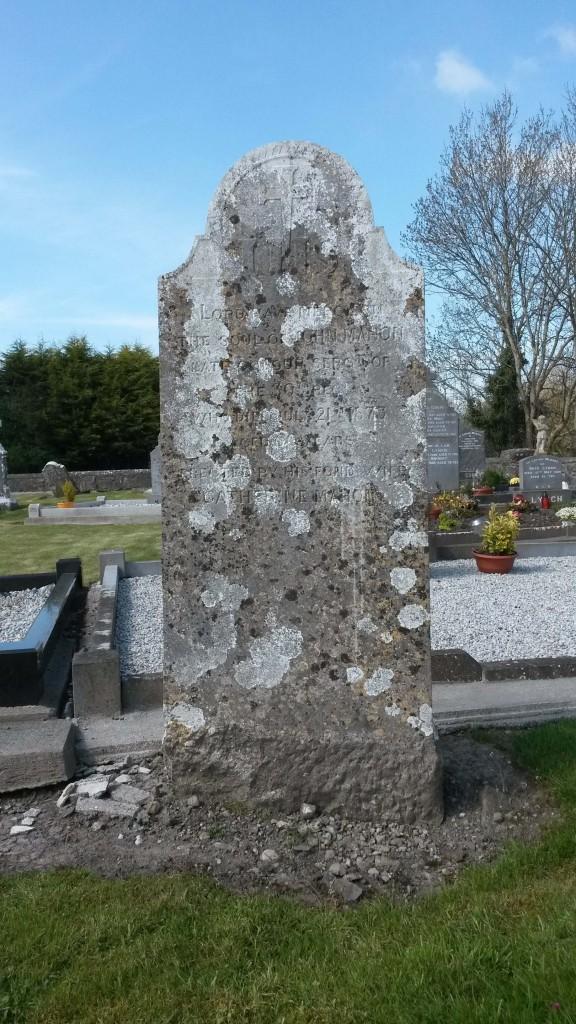 Mahon headstone Kiltormer
