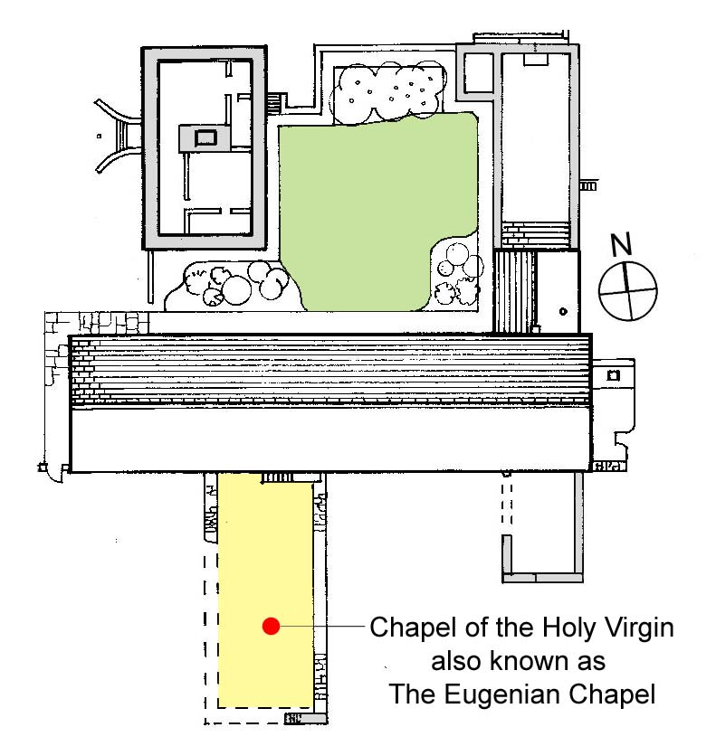 location of Chapel of the Holy Virgin at Meelick