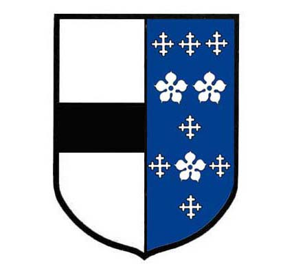 arms of Jane Birte alias Darcie died 1609