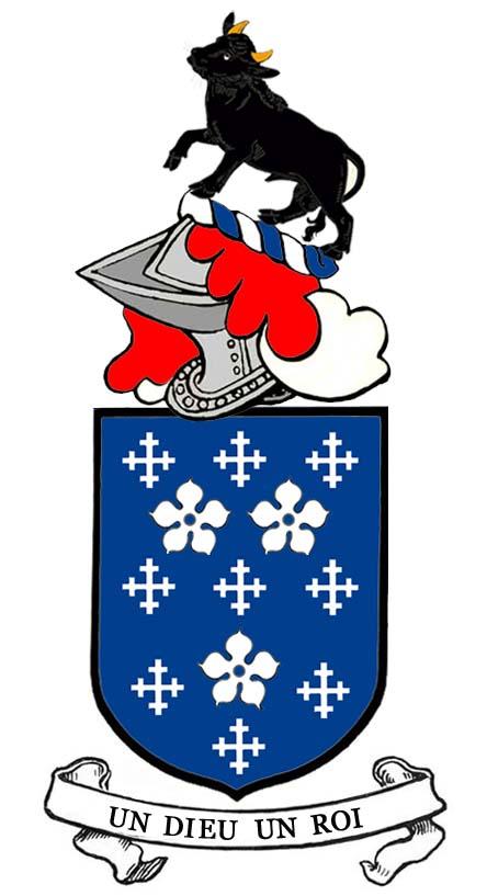arms of Patrick Darcy of Paris