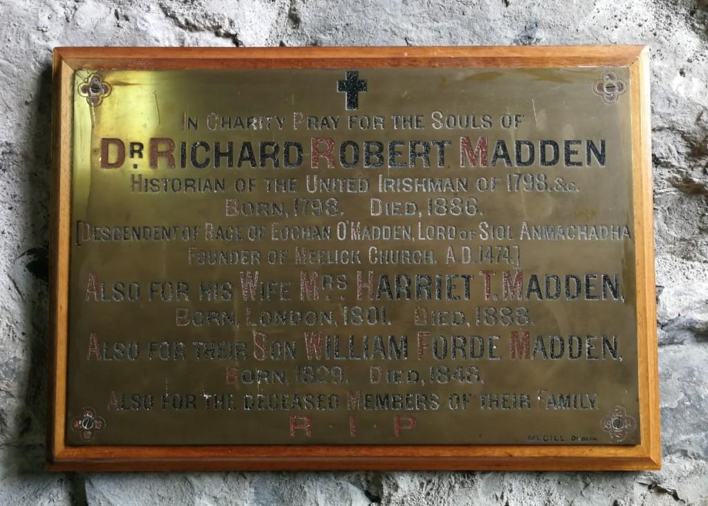 Dr. R.R. Madden memorial Meelick