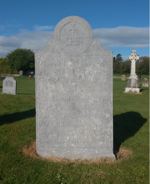 Callahan headstone