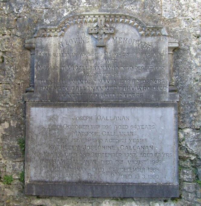 Callanan memorial Kilconnell