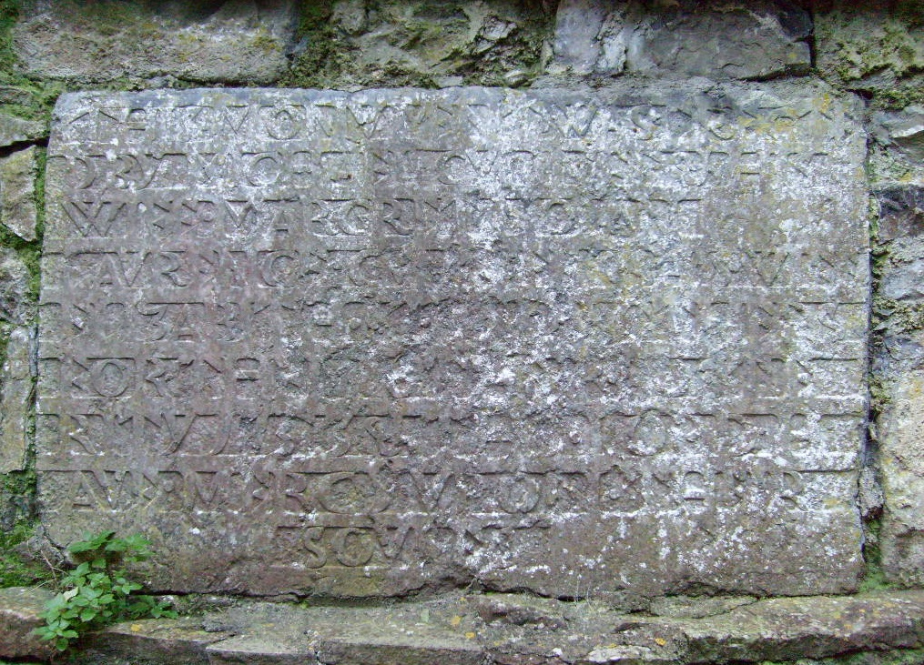 Cunniffe tablet Kilconnell