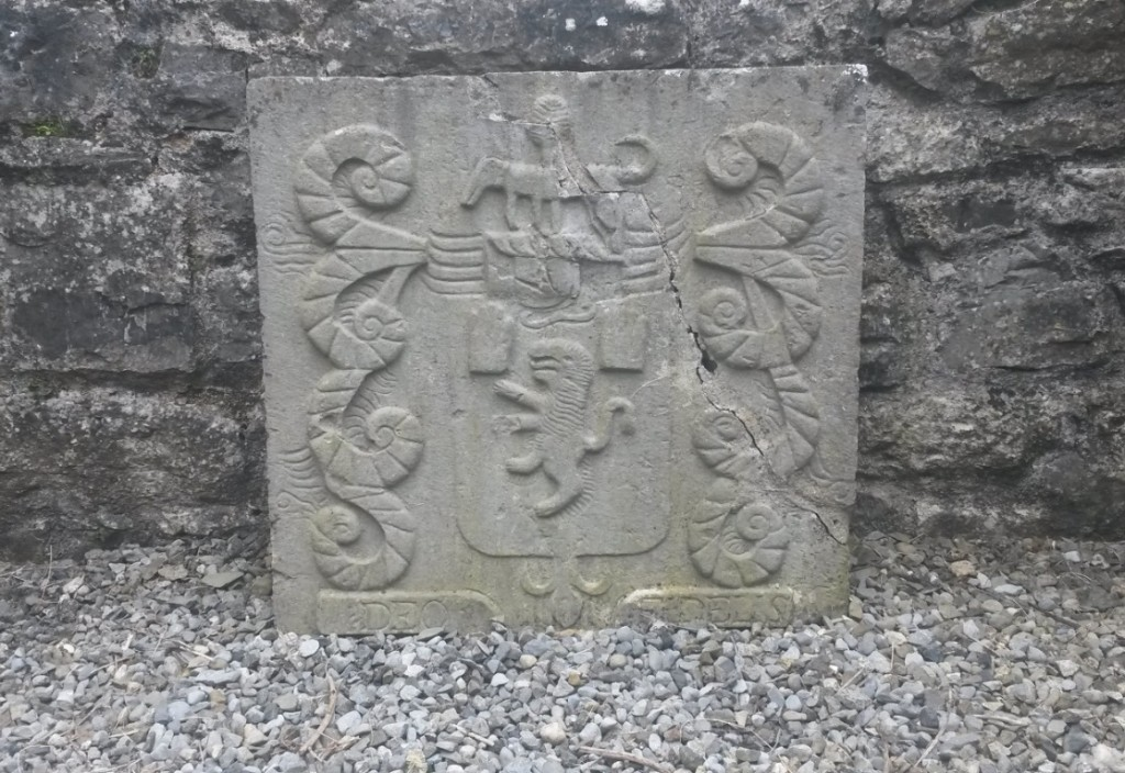 Daly armorial stone Kilconnell