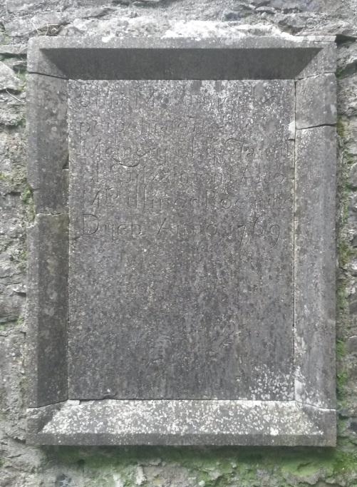 Fitzsimons memorial Kilconnell